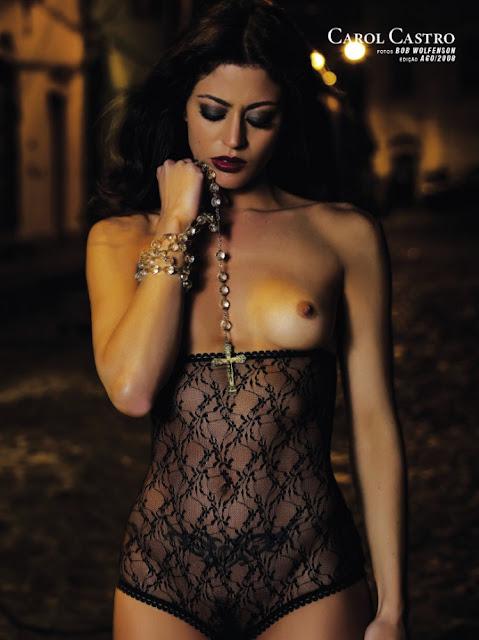 Fotos de Carol Castro nua pelada na Playboy