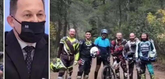 Πέτσας για ποδηλατάδα: «Ο πρωθυπουργός είναι ανθρώπινος»  οι άλλοι τι ειναι??