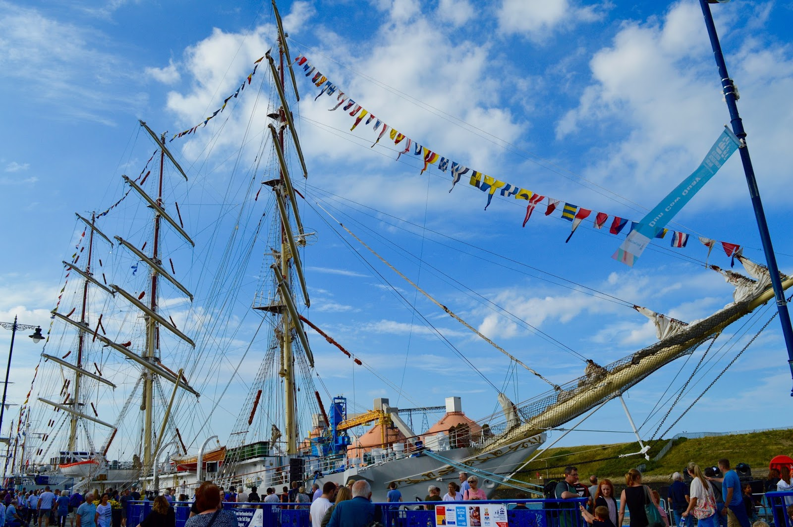 Tall Ships Regatta | Blyth 2016 | Commissioners Quay Inn