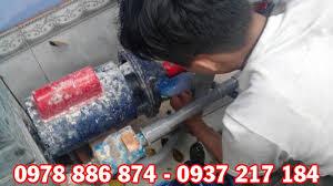 Sửa máy bơm nước giếng khoan công suất 1,5HP