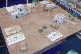 1:100th Scale; Afrika Korps; AFV Kits; AFV's; Battlefield in a Box; Chieftains Hut; Desert Rats; El Alamein; Fighting First; Flames of War; GaleForce Nine; GF9; HammerFall; Iron Maiden; Leopard; London Toy Fair; Modern Armour Toys; Red Thunder; Small Scale World; smallscaleworld.blogspot.com; Space Station Lasers; Stripes; Tank Sets; Tank Skirmish Game; Tanks; Team Yankee; Toy Fair Reports; War Games Figures; War Gaming; Wargaming; World War II; WWII;