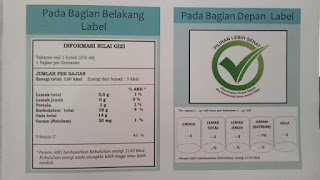label BPOM di produk