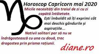 Horoscop mai 2020 Capricorn