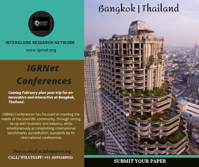 International Conferences, IGRNet conferences, 2020 Conferences, Meetings, Summit, Events
