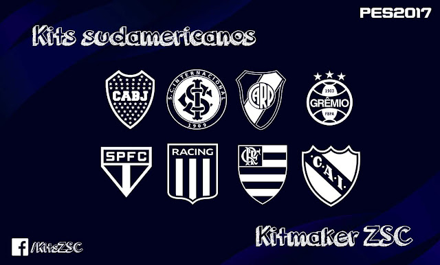 Kitpack Sudamerica For PES 17 by Kitmaker ZSC