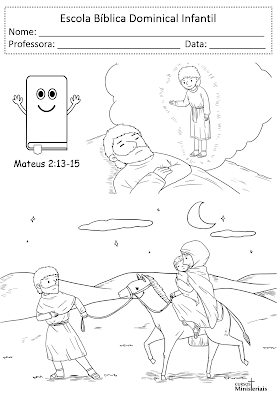 Atividades sobre o nascimento de Jesus