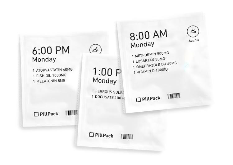 Индивидуальная упаковка PillPack