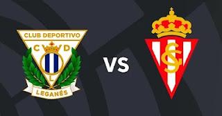 Resultado Sporting vs Leganes segunda division 10-9-21