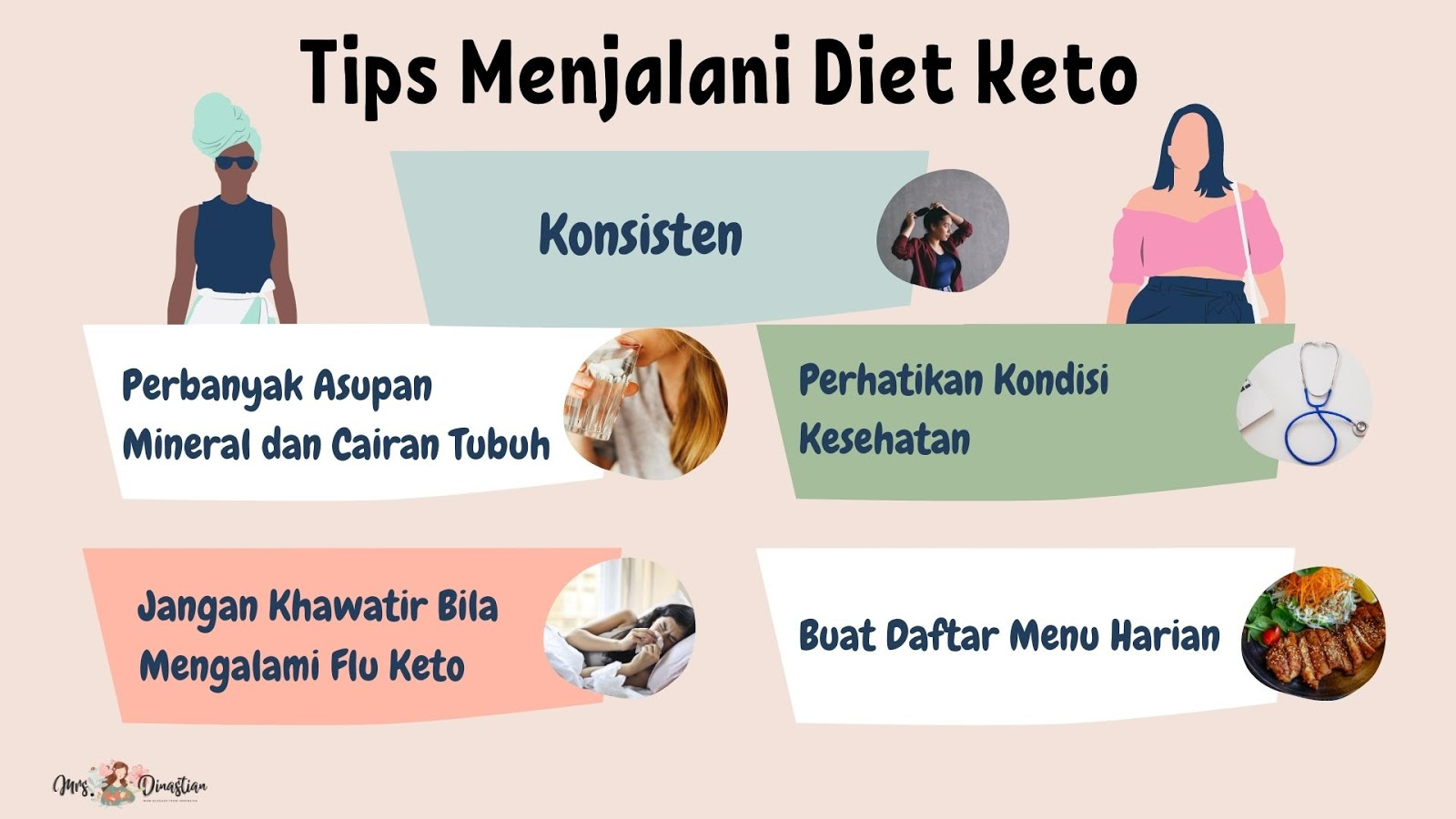 Tips Menjalani Diet Keto