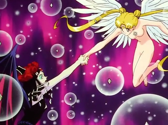 Sailor Moon: Sailor Moon and Galaxia