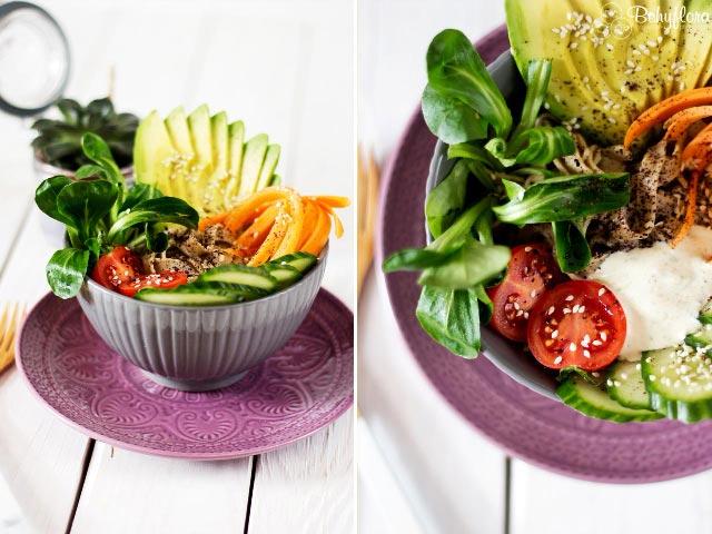 Trendfood: Buddah Bowl - Mit Hafernudeln