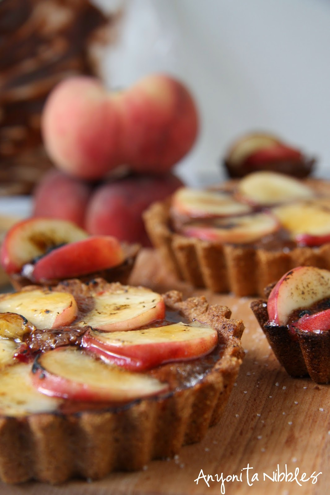 Sumptuous and decadent peach tarts by Anyonita Nibbles