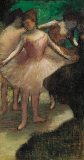 Эдгар Дега - Три танцовщицы в розовом (1886)