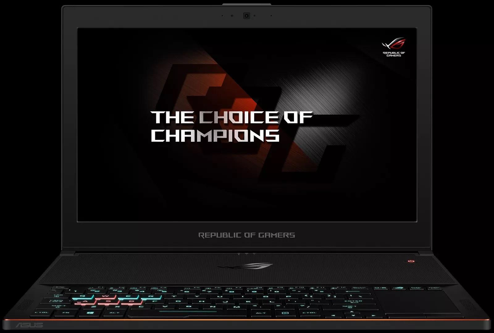 Asus เปิดตัวโน้ตบุ๊คสำหรับเล่นเกมที่บางที่สุดในโลก ROG ZEPHYRUS