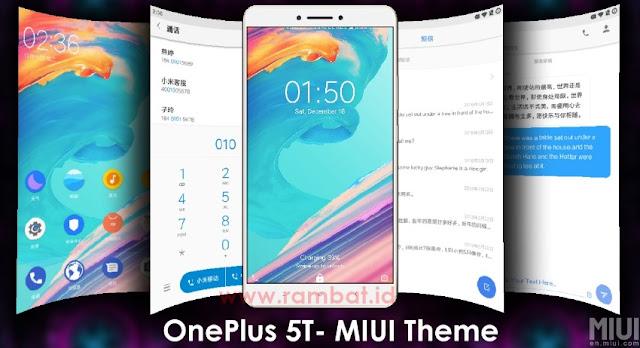 Tema OnePlus 5T MTZ Xiaomi