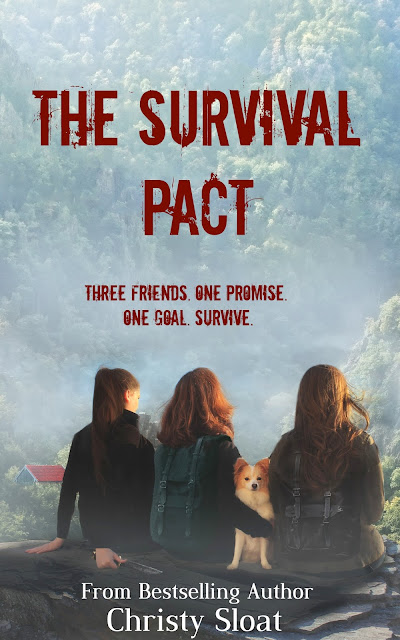 Cover reveal: The Survival Pact by Christy Sloat