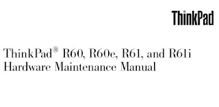 IBM THINKPAD R61 SERVICE MANUAL
