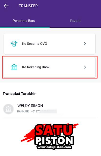 Cara Transfer OVO Ke Bank, Begini Caranya !!!