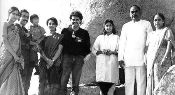 Venkatesh rare childhood young age and family photos