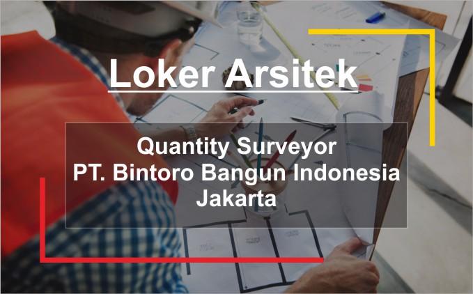 loker aritek quantity surveyor jakarta