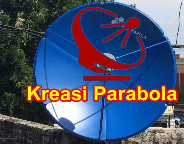 Proses Pasang parabola 120 cm