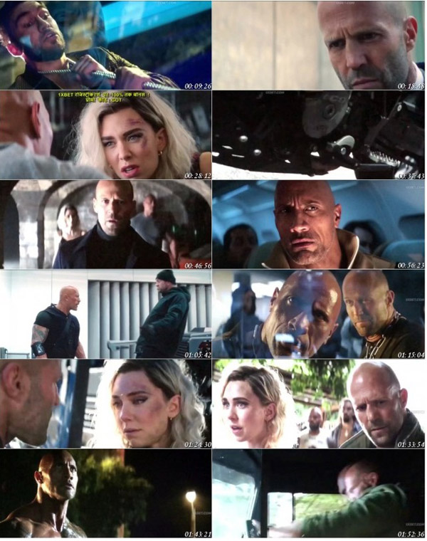 Download Fast and Furious Presents Hobbs and Shaw 2019 Dual Audio Hindi HQ HDTC 720p 1GB movie