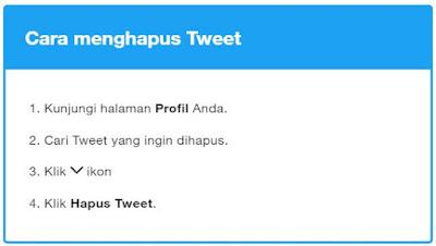 Cara Hapus Semua Tweet dengan Mudah dan Cepat