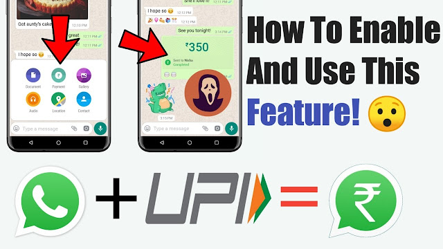 How to enable whatsapp payment option