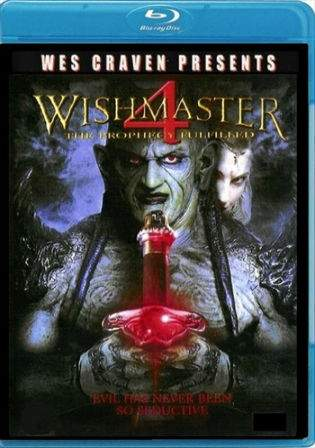 Wishmaster 4 The Prophecy Fulfilled 2002 BRRip 480p 300MB Dual Audio