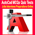 AutoCAD Objective Type MCQs Quiz Test