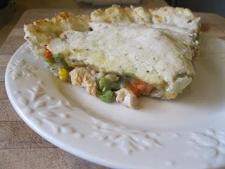 Gluten Free Chicken Pot Pie made with Full flavor Foods Cream of Chicken Soup