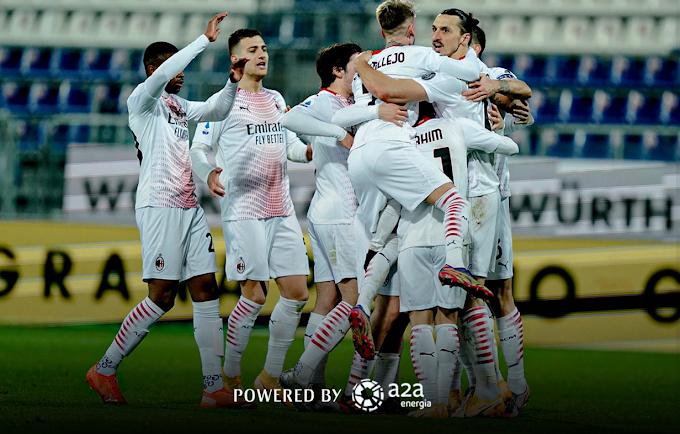 Serie A: il Milan vince a Cagliari e torna solo al vertice