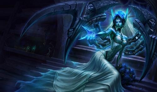 Morgana phụ trợ bằng hữu cực tốt khi sử dụng Khiên Đen giữa những thời điểm cần nhớ