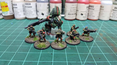 Painted models by Todd Mastergunz Farnholtz.