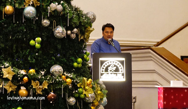 L'Fisher Hotel Bacolod helps - Welcome Home Foundation Inc - charity - CSR - Bacolod hotels - Bacolod City - Bacolod mommy blogger - children - deaf kids - hearing impaired - switch on - tree lighting ceremony - Victor Alcantara - Cong Greg Gasataya - Christmas note - Christmas ornament - Cong. Greg Gasataya