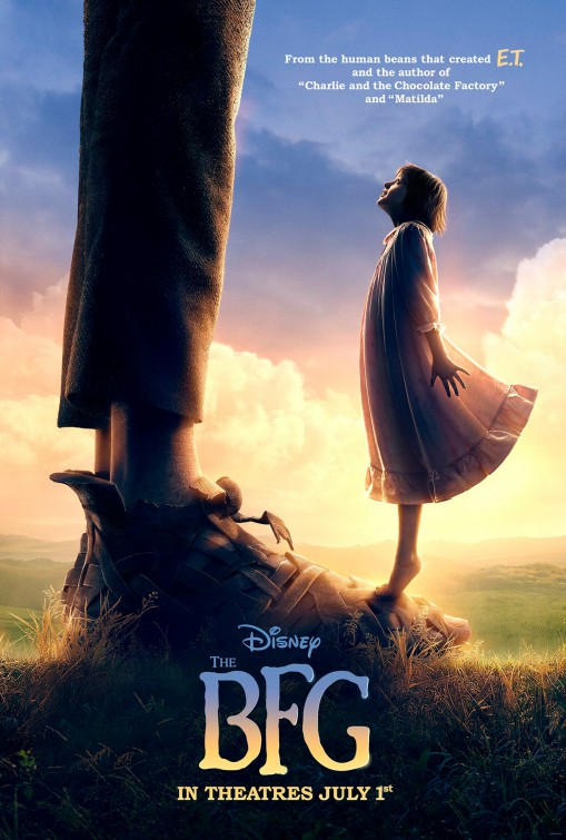 The BFG movie poster
