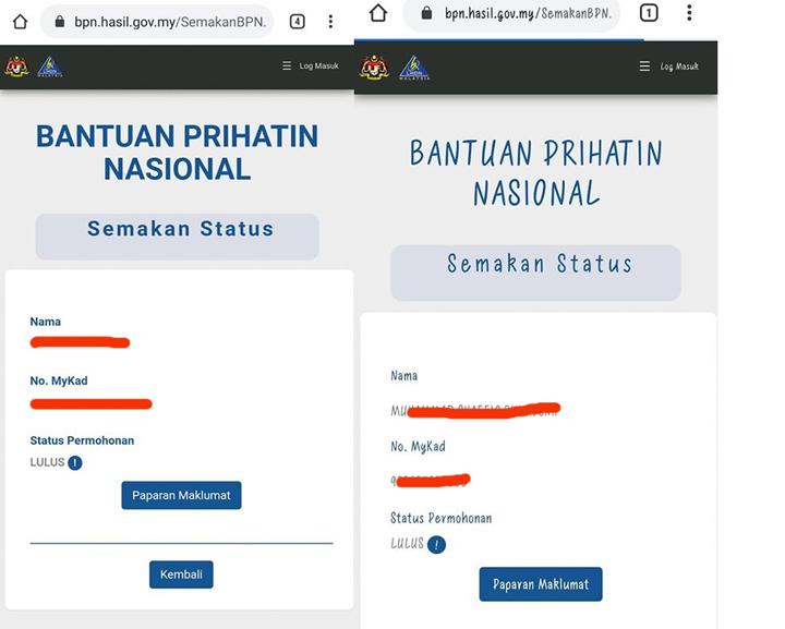 Status LULUS BPN