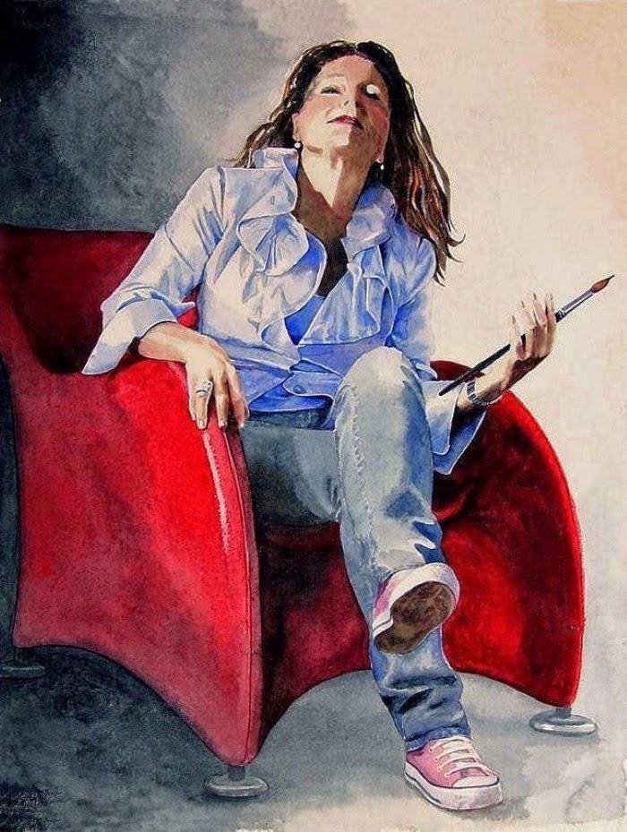 Талантливая нидерландская художница. Marina Kulik