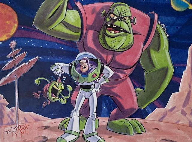 Buzz Lightyear of Star Command Concept Art