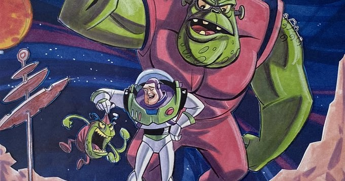 Go Behind The Scenes Of Buzz Lightyear Of Star Command Interview With Tad Stones Pixar Post