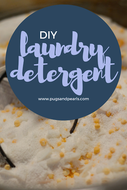 DIY Powdered Laundry Detergent Recipe