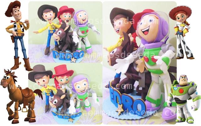 Topo de bolo Toy Story