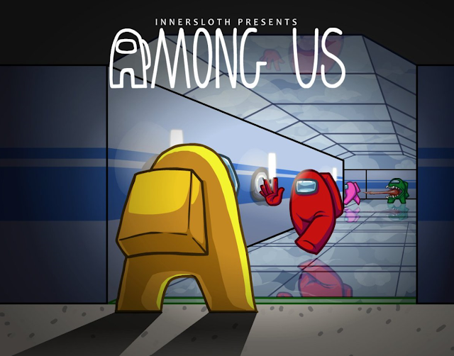 Among Us Game Weapons Room Wallpapers HD