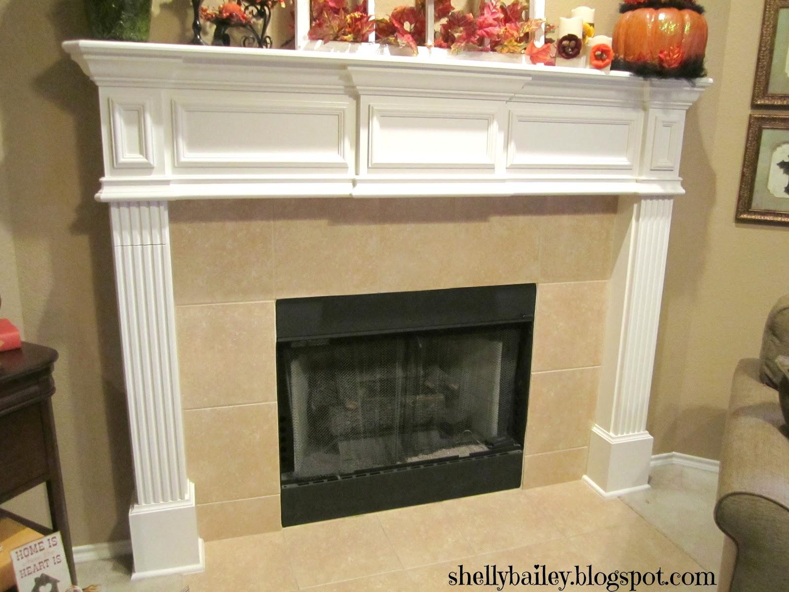 Shelly Bailey: Handmade Fireplace Cover