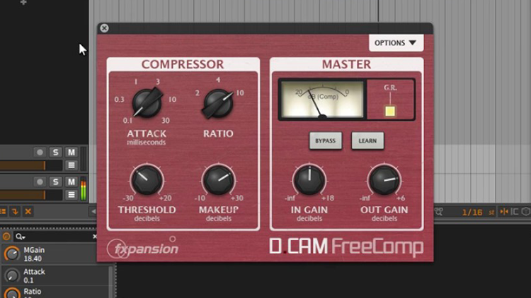 DCAM Free Comp - Plugins VST de Compressor Grátis para FL Studio