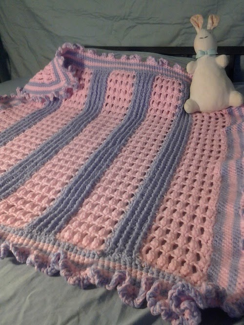 Crochet Is The Way Free Pattern Baby Girl S Blanket
