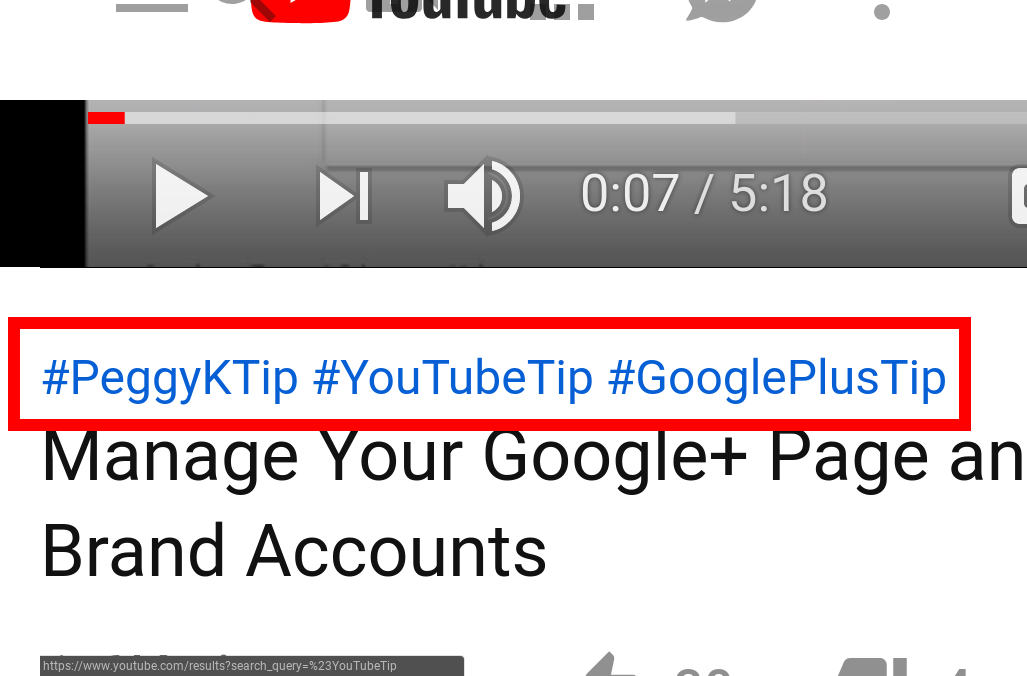 How to rank YouTube videos better using YouTube's ' #hashtag