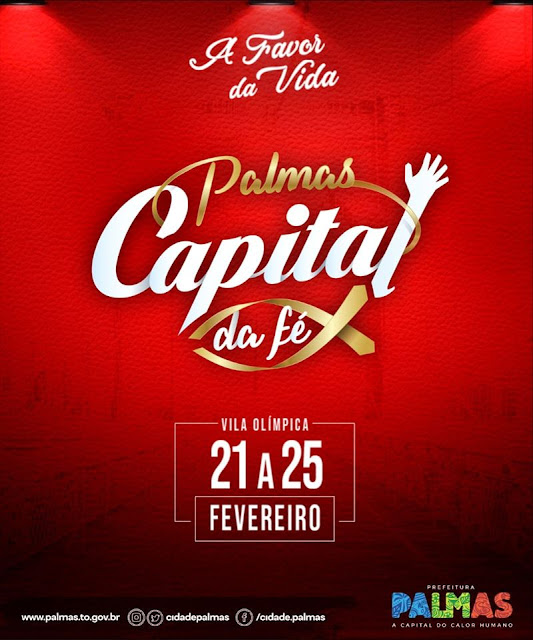 programação do palms capital da fé 2020