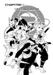Shinobi Iri - des personnages animaux anthropomorphes