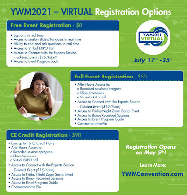 Obesity Action Coalition YWM Your Weight Matters Convention and Expo Registration Options